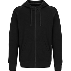 super.natural Essential Veste à capuche zippée Homme, jet black